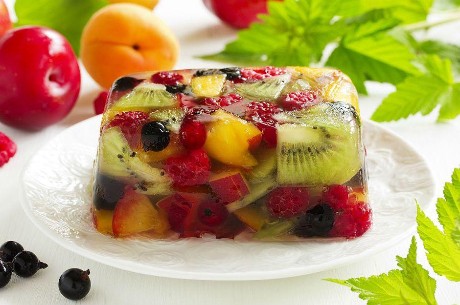 Jöleli Meyve Salatası