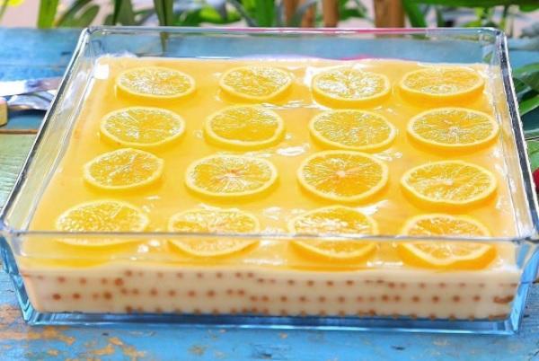 Limonlu Bisküvi Pastası