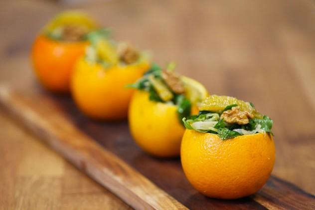 Portakal Çanağında Salata