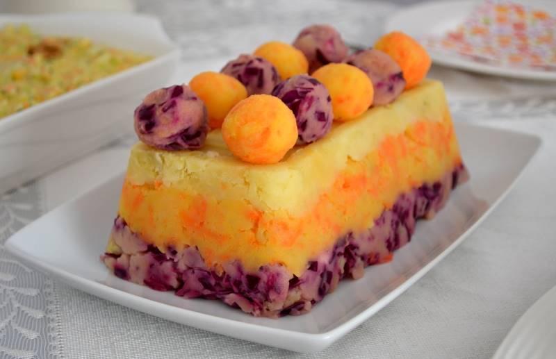 Renkli Enfes Patates Salatası
